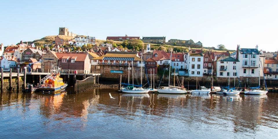 The picturesque port of Whitby