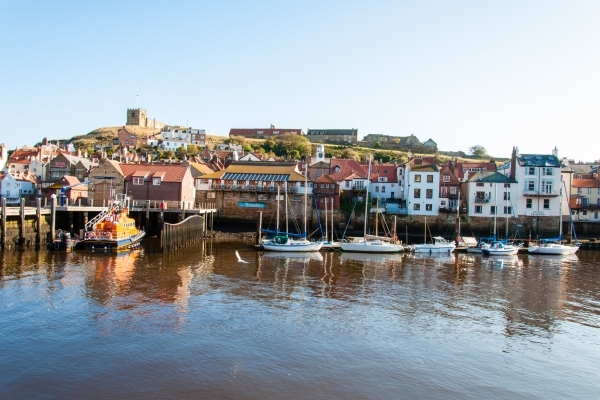 Whitby is a pictureque seaside town near Grouse Hill