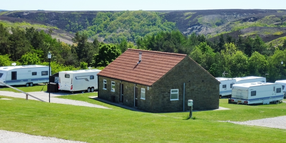 Caravan park North Yorkshire Moors